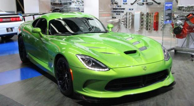 2014 New SRT Viper Stryker Green