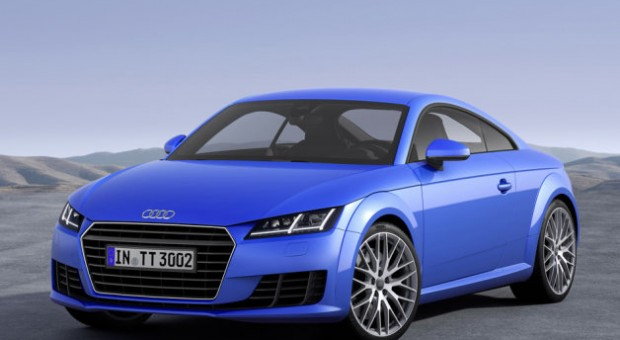 The 2015 Audi TT and TTS Coupe