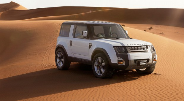 Land Rover: Final Design for Defender Replacement Signed Off