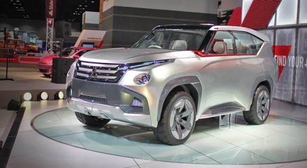Mitsubishi Motors Concept GC-PHEV Makes North American Debut at the 2015 Chicago Auto Show