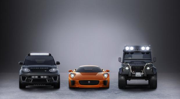New Bond Cars Revealed. Surprise, Surprise They're All Jaguar Land Rover