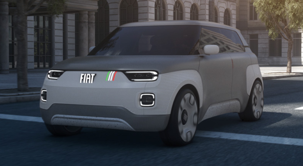 """Fiat Concept Centoventi: the """"democratic"""" answer to electric mobility"""