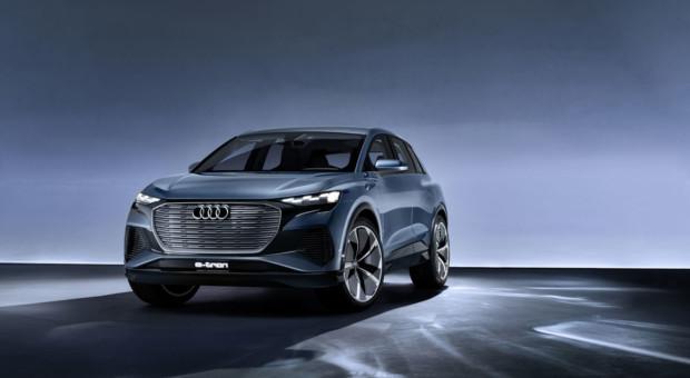 Audi Q4 e-tron concept !
