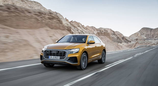 Audi Q8, passion for technology