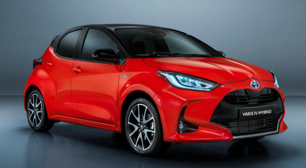 New Toyota Yaris Sets the Benchmark for Small Family Car Safety