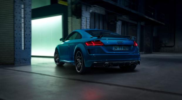 The Audi TT S line competition plus